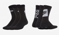 Kinder Tennissocken Nike Everyday Cushioned DriFit SK0065-010 schwarz