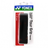 Grundgriffband Yonex Synthetic Leather Tour Grip schwarz