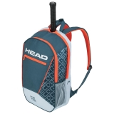 Tennisrucksack HEAD Core Backpack  grau-orange