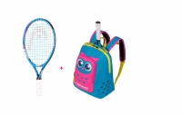 Kinder Tennisschläger Head Maria 19 2020 + Head Kids Backpack blau-pink