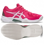 Kinder Tennisschuhe Asics Gel Resolution 8 Clay GS 1044A019-702 pink