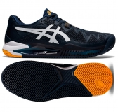 Tennisschuhe Asics Gel Resolution 8 Clay 1041A076-403 blau-orange