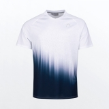 Tennis T-Shirt HEAD PERF T-SHIRT M weiss-blau 811361