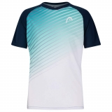 Tennis Kinder T-Shirt HEAD STRIKER 816201 blau-grün