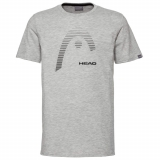Junior Tennis T-Shirt HEAD CLUB CARL 816509 grau
