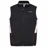 Tennis Head Gilet Club Vest M 811319 schwarz