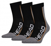 Tennissocken HEAD Perfomance Short Crew 811904 schwarz