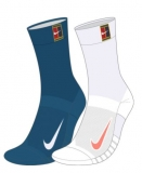 Tennissocken Nike Multiplier Crew Tennis Socks 2 Paar SK0118-904