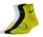 Kinder Tennissocken Nike Nike Lightweight Ankle Sock DriFit CU8129-904