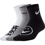 Kinder Tennissocken Nike Nike Lightweight Ankle Sock DriFit CU8129-902