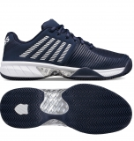 Tennisschuhe K-Swiss Express Light HB 2 clay 06611-401 blau