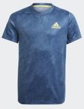 Kinder T-Shirt  Adidas HEAT.RDY Primeblue Freelift Tee GQ2231 blau