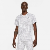 Tennis T-Shirt Nike NikeCourt Dri-FIT Victory CV7858-100 weiss