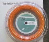Tennissaite ISOSPEED PULSE 1,30 mm, 12 m orange - Saitenset