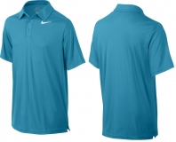 Kinder Tennispoloshirt NIKE Team Court - 642071-407 blau