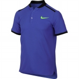 Boys T-Shirt Nike Advantage Polo 832531-452 blau