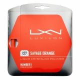 Tennissaite Luxilon SAVAGE 127 ORNAGE 12 m