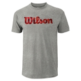Tennis T-Shirt Wilson Script Camo Cotton WRA747817