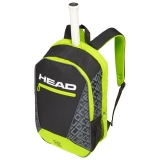 Tennisrucksack HEAD Core Backpack  grau-gelb