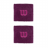 Tennis Schweissband Wilson Wristband klein purple
