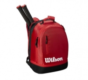 Tennisrucksack Wilson Team Backpack rot