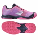 Kinder Tennisschuhe Babolat JET Clay Junior pink