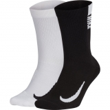 Tennissocken Nike Multiplier Crew Tennis Socks 2 St.