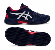 Kinder Tennisschuhe Asics Gel Resolution 8 Clay GS 1044A019-400 blau
