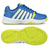 Kinder Tennis Schuhe K-Swiss Court Smash Omni 55629-445 blau