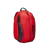 Tennisrucksack Wilson Federer DNA Backpack 2020 rot
