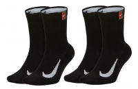 Tennissocken Nike Multiplier Crew Tennis Socks 2 Paar SK0118-010 schwarz