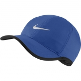 Tennis Kappe Nike Feather Light 679421-480 blau
