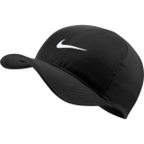 Tennis Kappe Nike Feather Light 679421-010 schwarz