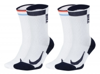 Tennissocken NikeCourt Multiplier Max Socks CN6932-902 weiss hoch