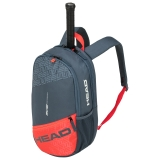 Tennisrucksack HEAD Elite Backpack grau-orange