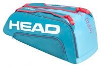 Tennistasche Head Tour Team 9R Supercombi 2020 hellblau-pink