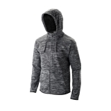 Tennis Jacke Wilson Training Hooded Jacket WRA774301 grau