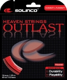 Tennissaite Solinco Outlast - Saitenset